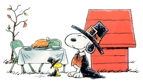 Snoopy-Woodstock-Thanksgiving-Dinner
