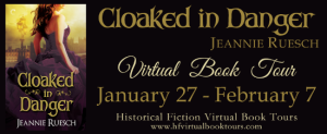 cloaked book tour banner
