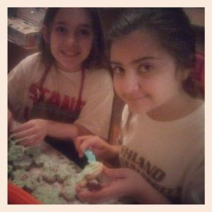 addie and em decor st patty's cookies
