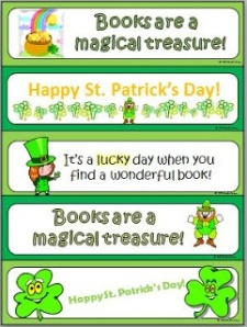 St. Patrick's bookmarks