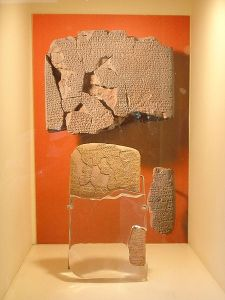 Treaty-of-Qadesh-between-Egypt-and-Hittites-©-Giovanni-DallOrto-WikiMedia-Commons