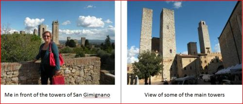 carol with towers