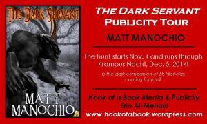 Matt tour graphic Dark Servant