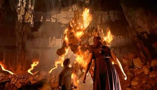 Remember this Doctor Who episode in the fires of Pompeii?