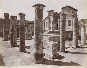 Just for Fun Photo: The Temple of Isis in Pompeii / Wiki