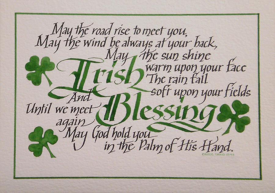 Erin go bragh oh for the hook of a book irish blessing horizontal carol sabo m4hsunfo