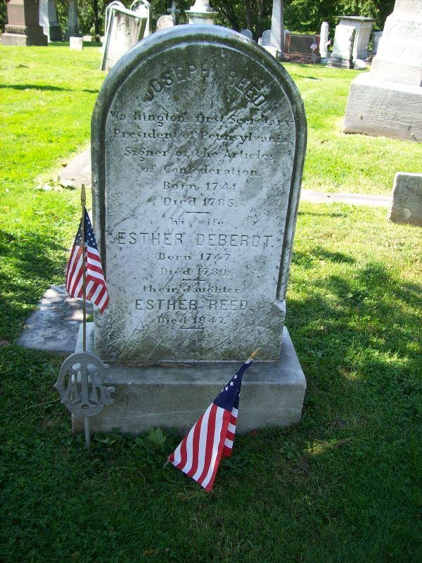 Esther Reed grave.jpg