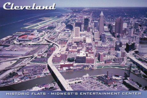 postcard cleveland