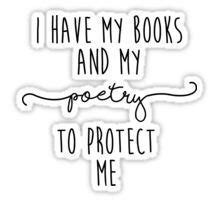 poetry and books quote
